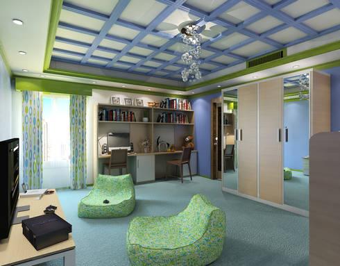 modern Bedroom by Ravenor's Design Solutions