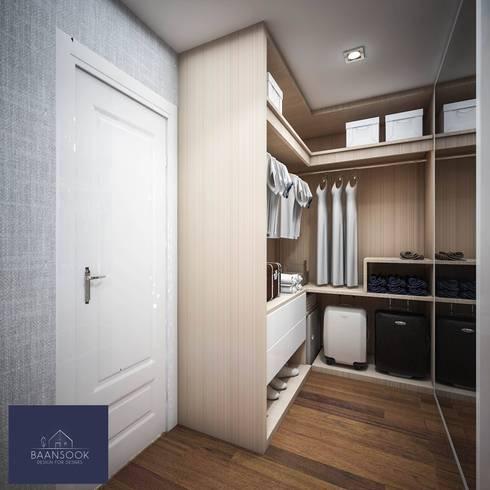 หมูบ้านมัณฑนา ราชพฤกษ์ สะพานมหาเจษฎาบดินทร์ฯ:   by BAANSOOK Design & Living Co., Ltd.