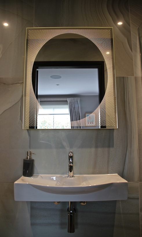modern Bathroom by Alguacil & Perkoff Ltd.