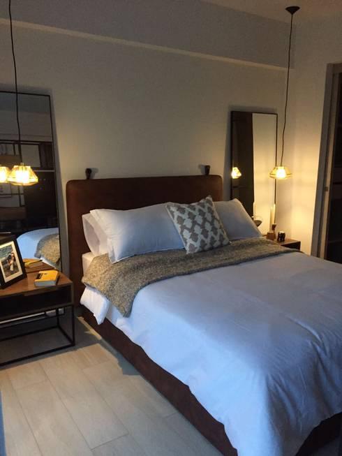 Habitacion: Salas de estilo moderno por Maria Mentira Studio
