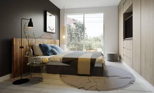 Dormitorio Principal - Villarán  269:  de estilo  por FABRE STUDIO