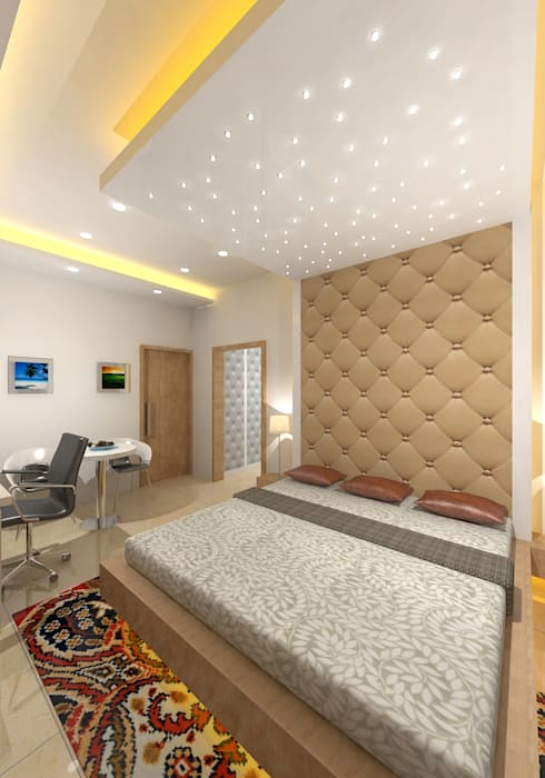modern Bedroom by Gurooji Design