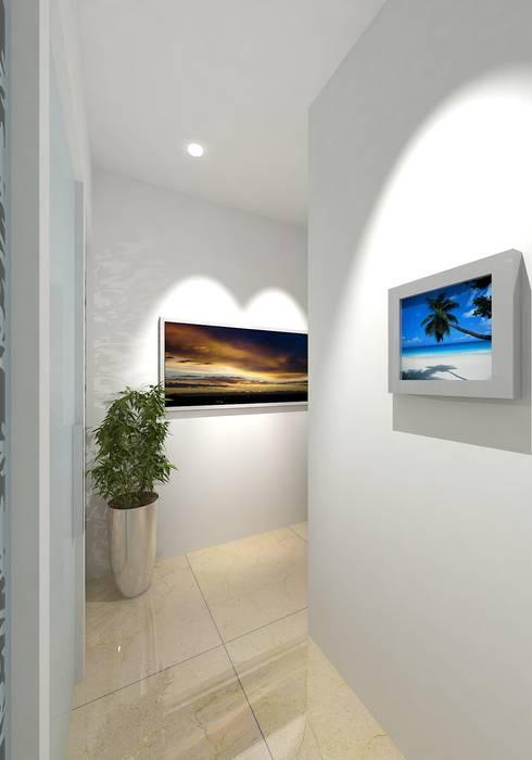 :  Corridor & hallway by Gurooji Design