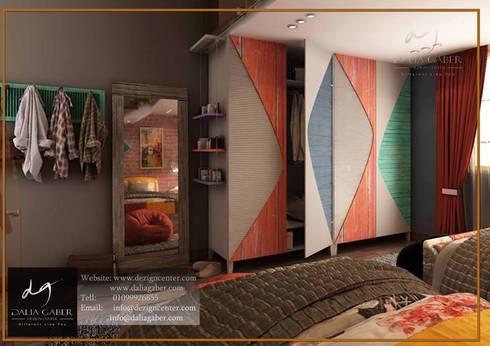 Villa In Rehab:   تنفيذ DeZign center office by Dalia Gaber