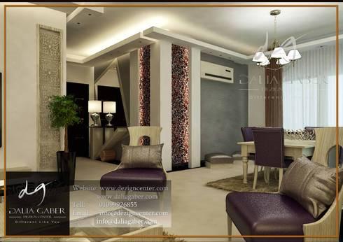 Apartment In Maram Compound:   تنفيذ DeZign center office by Dalia Gaber