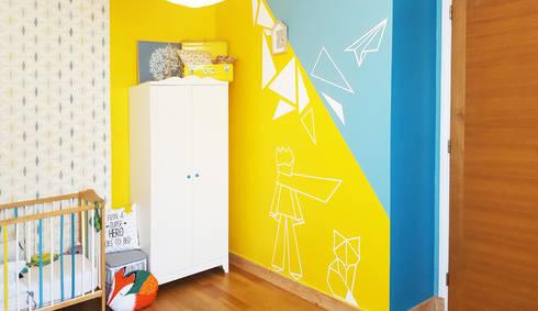 Peinture Murale U2013 Décoration Chambre Du0027enfant U2013 Le Petit Prince En Origami
