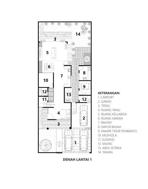 by CV Andyrahman Architect