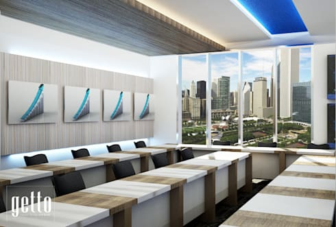 Samsung Meeting Room:  Kantor & toko by Getto_id