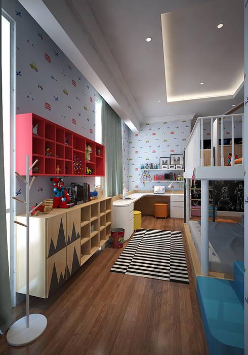 Kids Bedroom:  Kamar Bayi & Anak by EIGHT IDEA