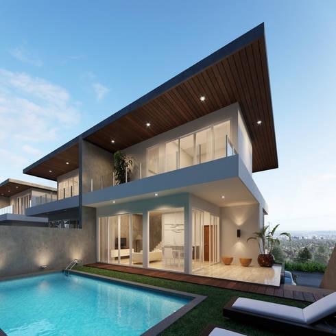 Architectural Design Bintoro Project. :   by Jade Interior Design