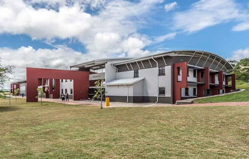 WSU Faculty of Health Sciences:  Schools by Intsika Architects (Pty) Ltd
