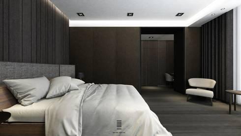 Taichung L House:  臥室 by 質覺制作設計有限公司