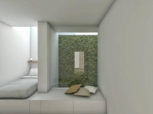 minimalistic Bedroom by Grupo Norma