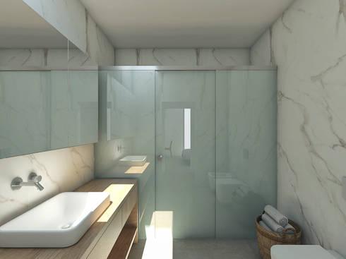 minimalistic Bathroom by Grupo Norma