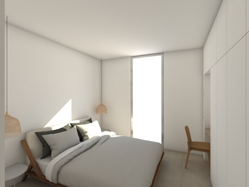 modern Bedroom by Grupo Norma