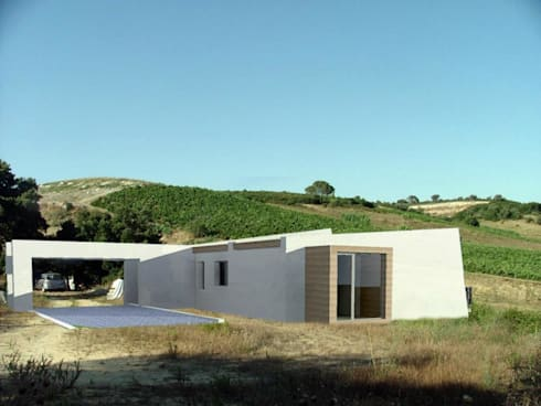 mediterranean Houses by Grupo Norma