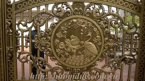 Mẫu cổng nhôm đúc đẹp:   by Công ty cổ phần nhôm đúc Fuco