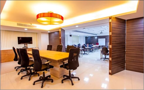 Great Lakes Institute of Management- Back Office, Chennai:  Office buildings by The Workroom