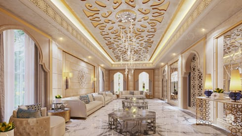 classic Living room by Spazio Interior Decoration LLC