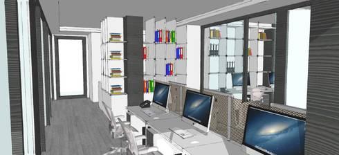 Interiors for Office, Noida:   by mold design studio