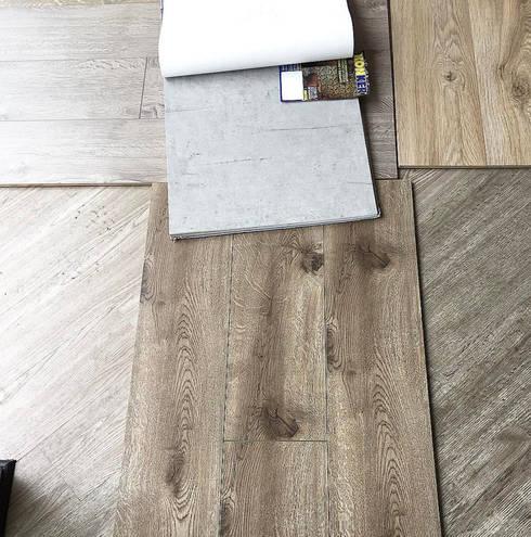 Materiales: Paredes de estilo  por D Interior
