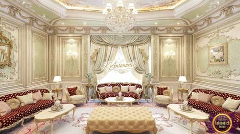 Luxury living room design ideas from Katrina Antonovich: classic Living room by Luxury Antonovich Design