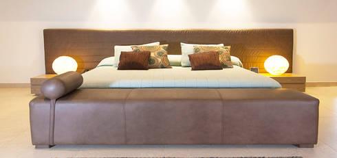 IBAGUE LAS VICTORIAS: Dormitorios de estilo  por D Interior