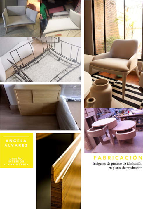 CARPINTERÍA: Hogar de estilo  por D Interior