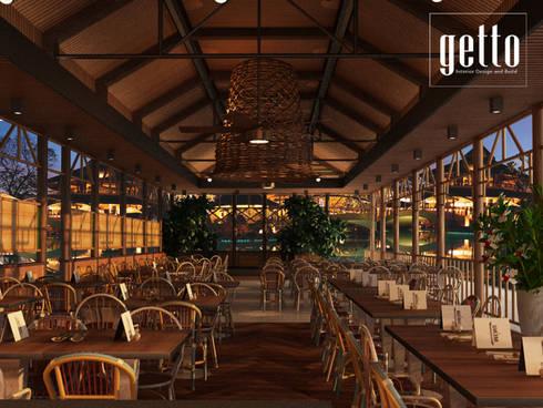 Restaurant Saung Desa, Bandar Lampung:   by Getto_id