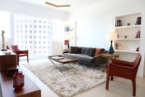 modern Living room by B Squared Design Ltd.