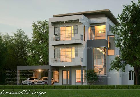 บ้าน3ชั้น โมเดิร์นลอฟต์ ซ.ลาดกระบัง18 คุณณัฐลดา ขำหรุ่น:   by fewdavid3d-design
