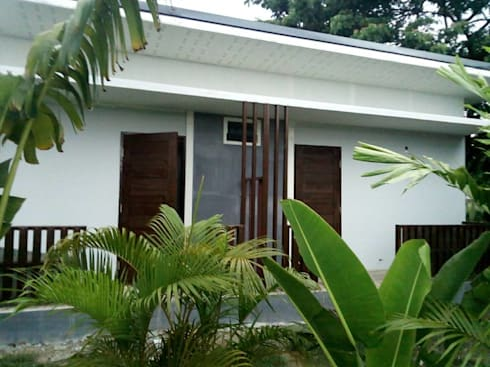 Type Two Plus @ ปทุมธานี:  บ้านและที่อยู่อาศัย by P Knockdown Style Modern