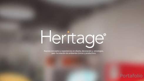 Portafolio Servicios: Casas de estilo minimalista por Heritage Design Group