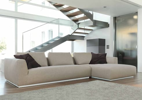 Modern Lounge Design: modern Living room by Spacio Collections