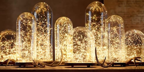 Incredible Contemporary Lighting Solutions : modern Living room by Spacio Collections