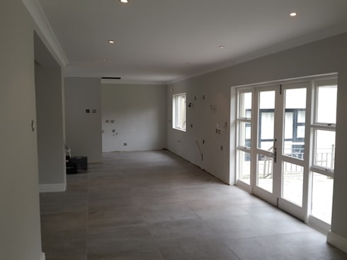 New Tiles Installed (Full House) Claremont:   by CPT Painters / Painting Contractors in Cape Town