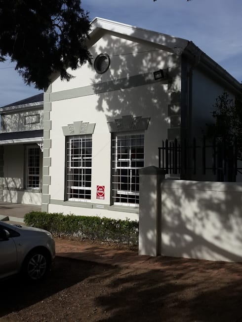 Sanded and Painted Windows in Paarl:   by CPT Painters / Painting Contractors in Cape Town