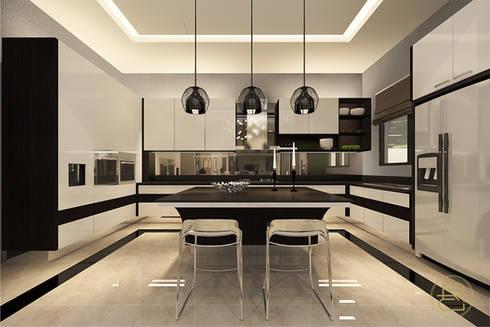 Teratai House:  Dapur by Arci Design Studio