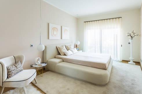 modern Bedroom by Glim - Design de Interiores Lda