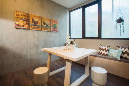 CANTAGIRONE TREPIU: Comedores de estilo rústico por Munera y Molina