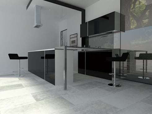 COCINA: Muebles de cocinas de estilo  por Dakota Austral