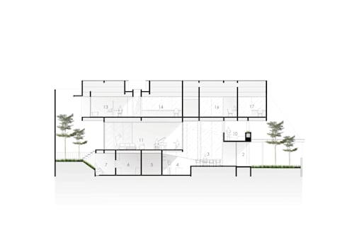 Sections:   by Spasi Architects