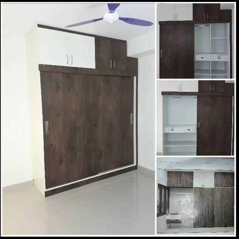 Buy Cupboard Online: modern Bedroom by Scale Inch Pvt. Ltd.
