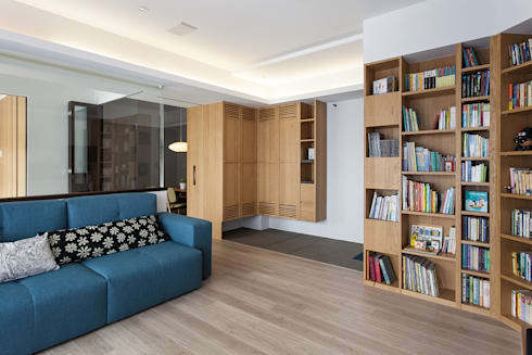 公共區域:  走廊 & 玄關 by 禾光室內裝修設計 ─ Her Guang Design