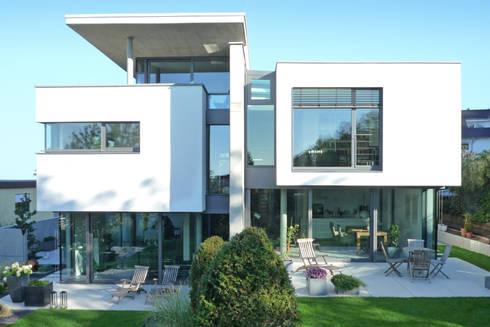 Weber Und Partner doppelhaus am hang by weber und partner freie architekten bda homify