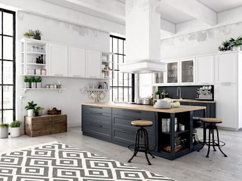 modern Kitchen by Nain Trading GmbH