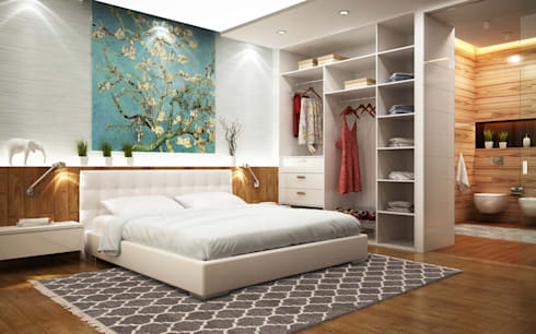 modern Bedroom by Nain Trading GmbH