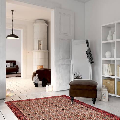 Orientteppiche in moderner skandinavischer, minimalistischer ...