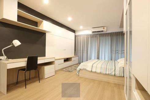 แปลงโฮมห้องเก่า:  ตกแต่งภายใน by BAANSOOK Design & Living Co., Ltd.