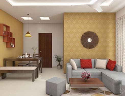 Aryan Villa, Pune:  Balconies, verandas & terraces  by The Sasha Interiology